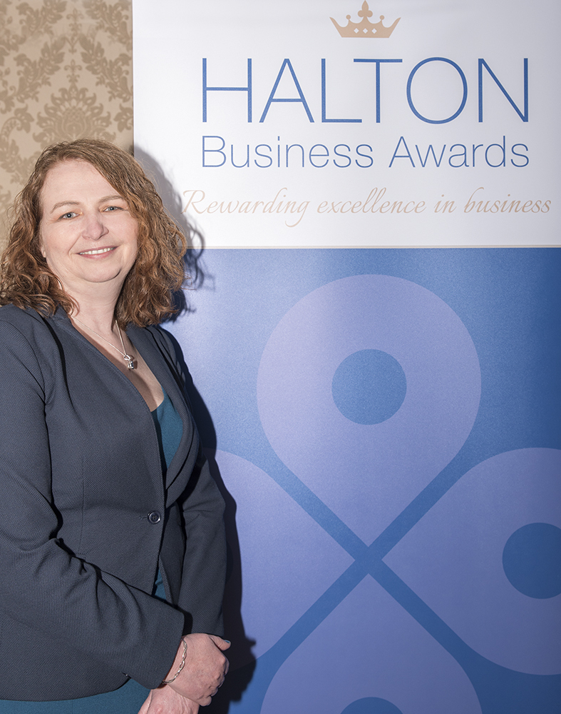 Rachel Owen, chief executive of Halton Chamber of Commerce, invites firms to shout about their success
