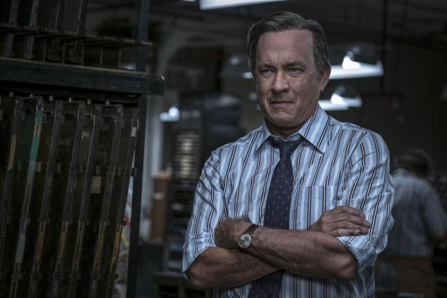 Tom Hanks stars as Ben Bradlee