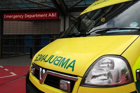 A 12-year-old schoolboy was taken to Whiston Hospital after being involved in a crash on Highfield Road in Widnes