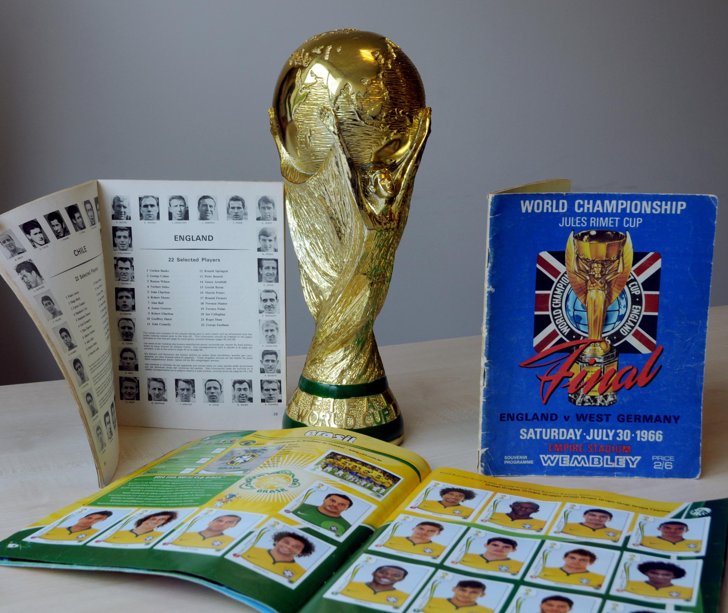 Dig out your World Cup memorabilia
