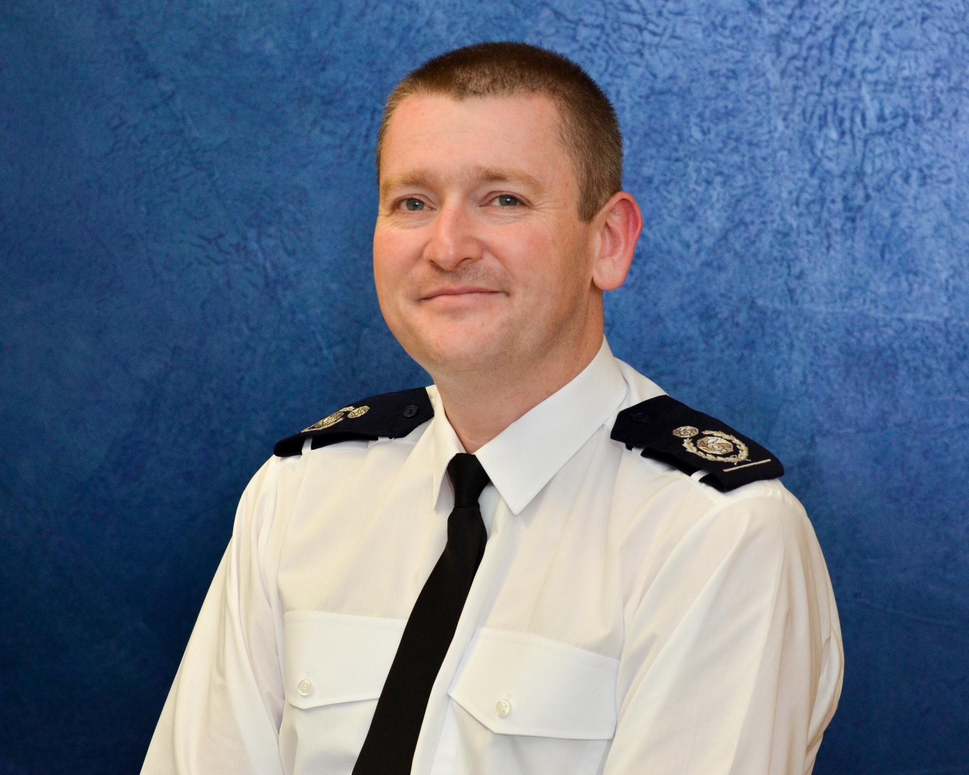 Mark Cashin, who lives in Moore with his wife and daughter, is the new fire chief at Cheshire Fire and Rescue Service