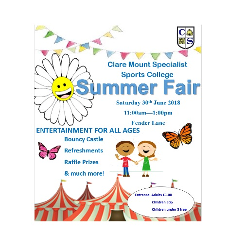 Clare Mount Summer Fair