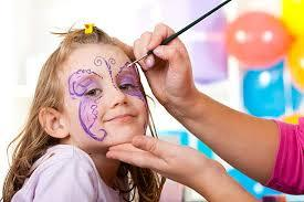 Children can be transformed into a butterfly, tiger or their favourite superhero at a face painting event in Green Oaks Shopping Centre