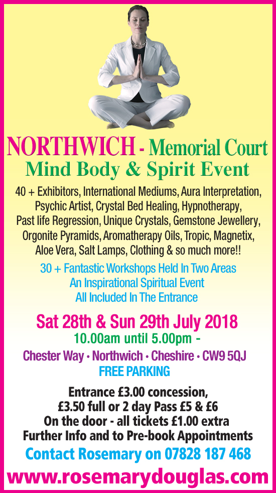 Northwich Mind Body Spirit Event