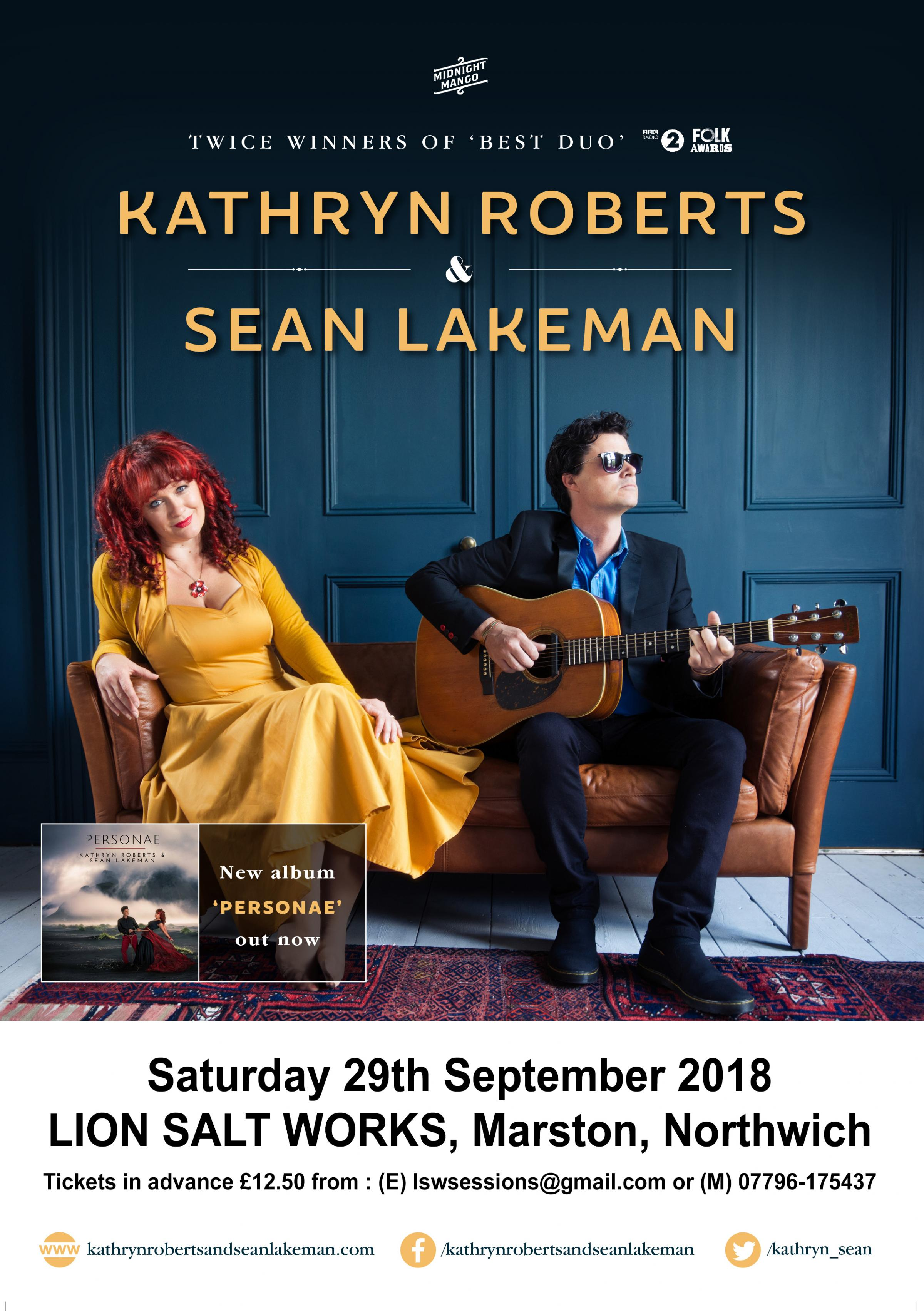 Kathryn Roberts and Sean Lakeman