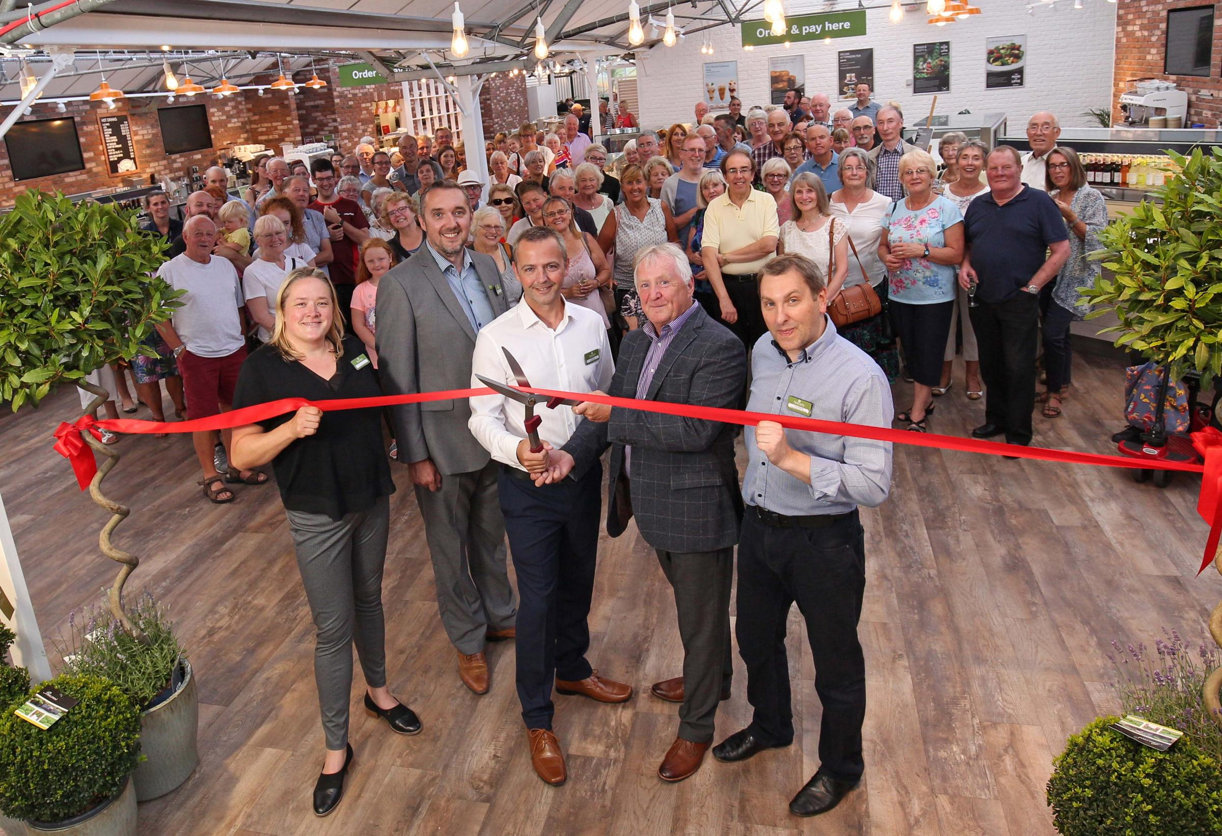 Notcutts Rivendell Garden Centre has unveiled a new look following a major refurbishment.