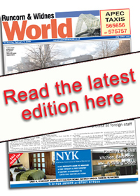 Runcorn and Widnes World: World E Edition Front Cover