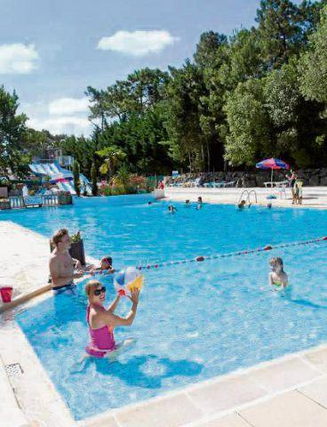 Runcorn and Widnes World: SUMMER FUN The swimming pool at Siblu holiday parc Le Bois Dormant