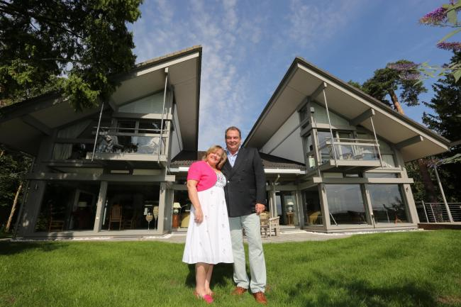Mark and Sharon Beresford are selling their £3m home