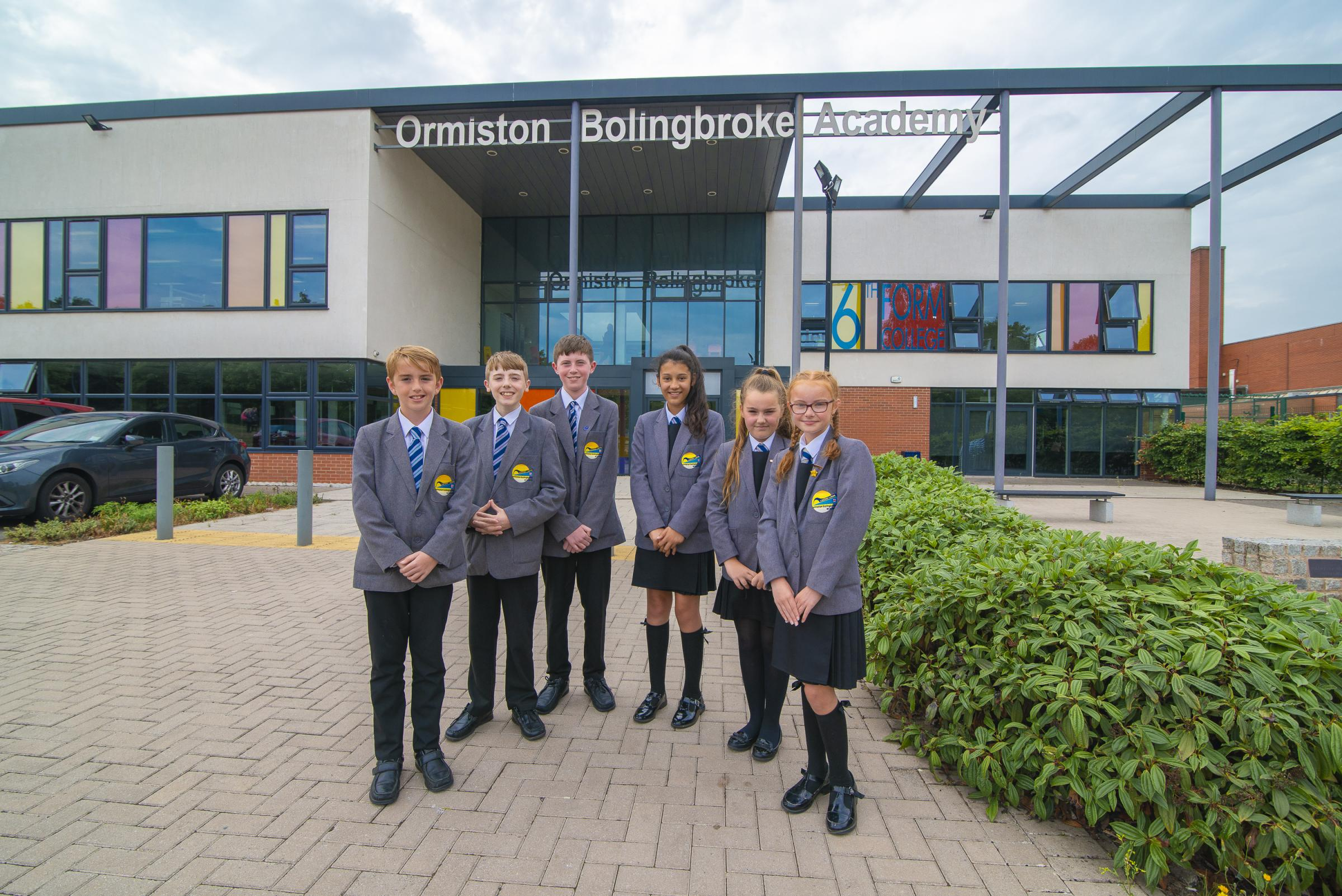 Ormiston Bolingbroke Academy in Runcorn is expanding to offer 200 more places