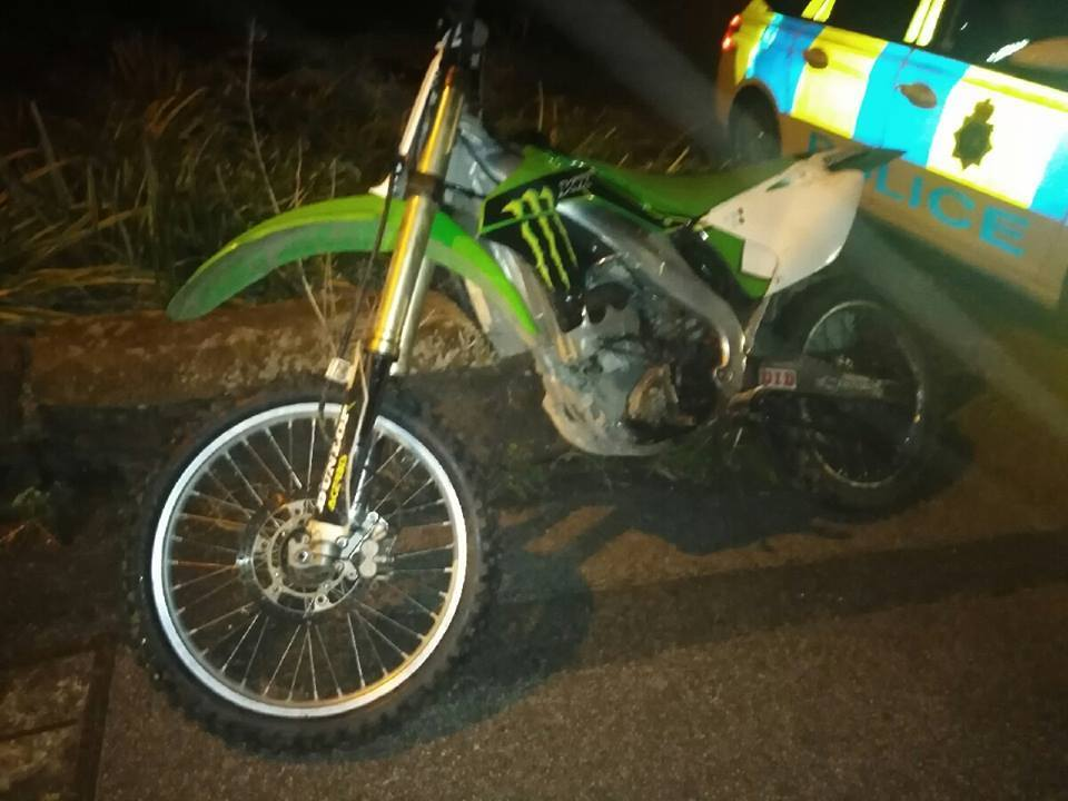 One of the bikes. Picture: Knowsley Police