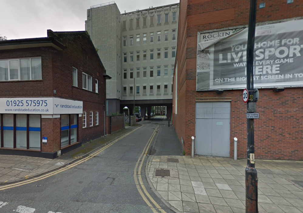 A teenager was raped in the area between St Austin's Lane and Stanley Street. Picture by Google Maps.