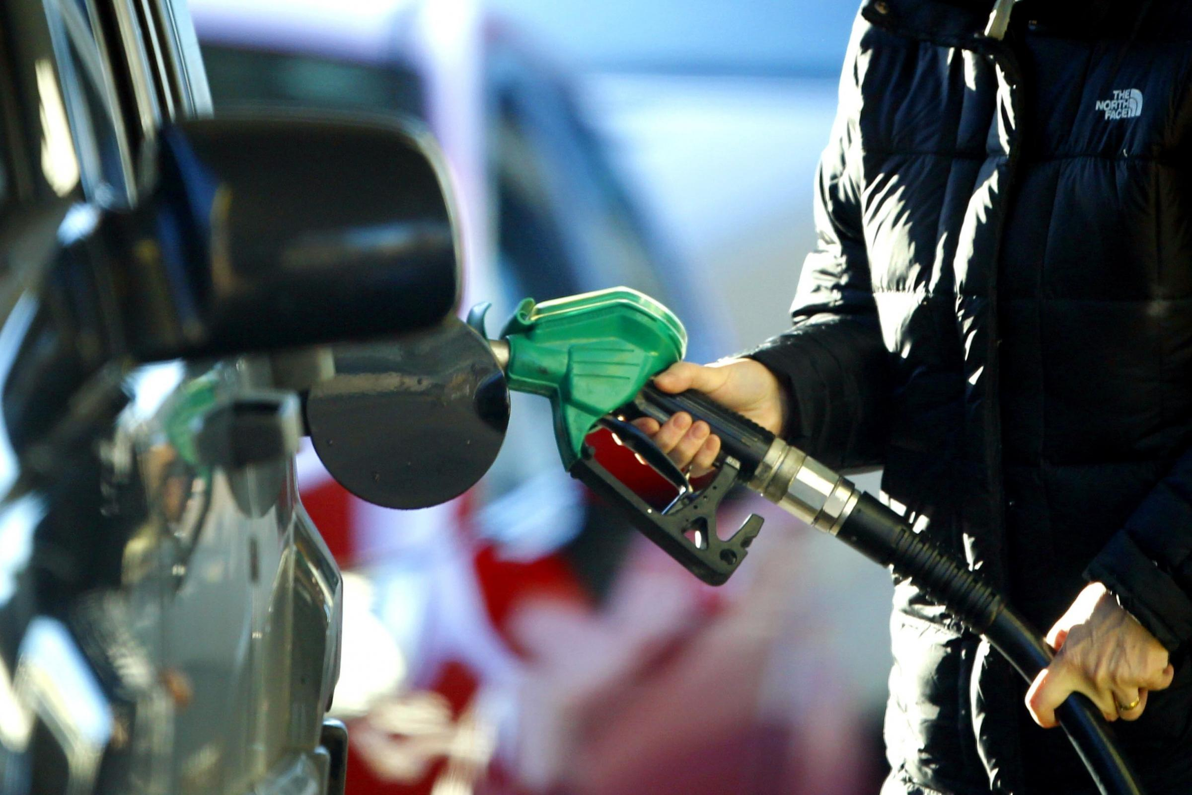 Fuel prices have risen for two months in a row (Peter Byrne/PA)