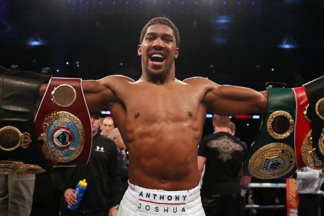 Who will Anthony Joshua fight next?