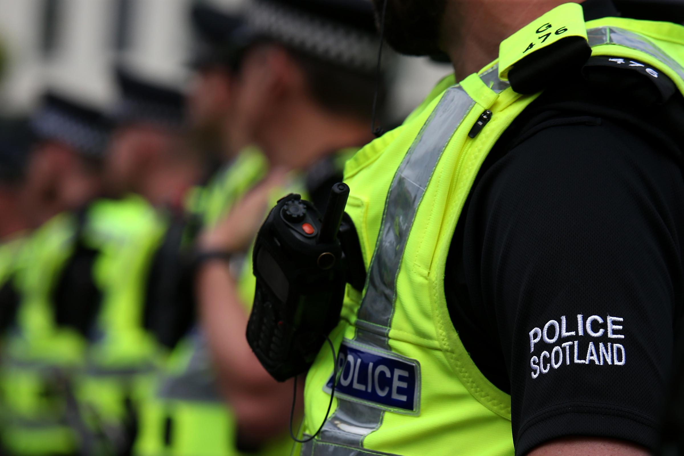 Police Scotland officer