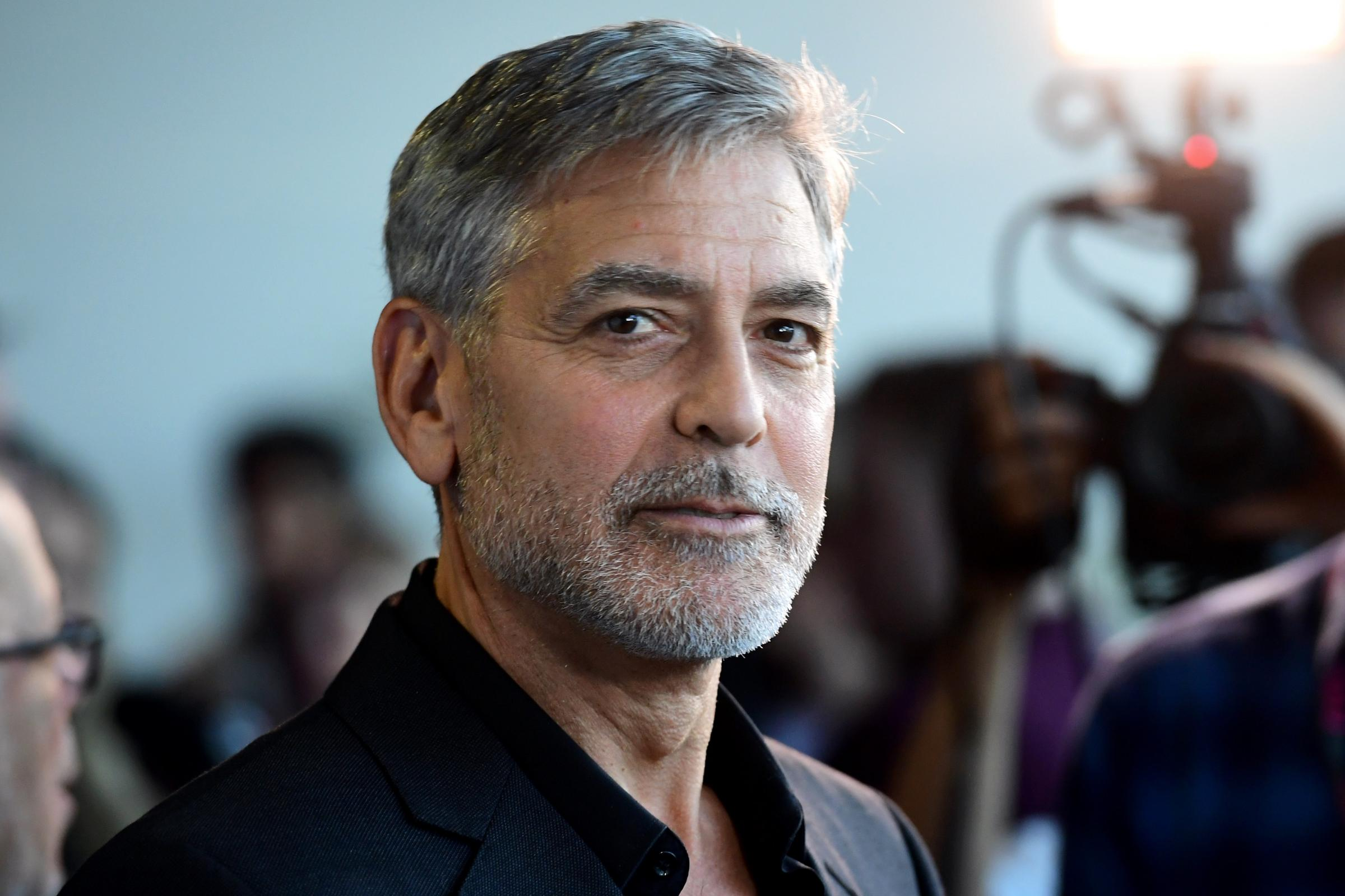 George Clooney at the Catch 22 UK Premiere – London