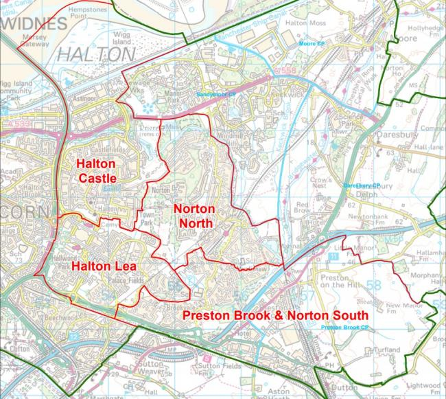 Residents can have their say on these ward boundary proposals. Image: Local Government Boundary Comission for England