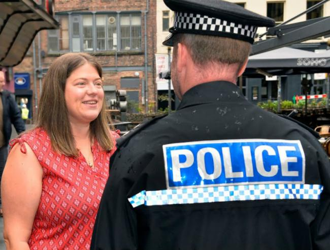 Former deputy police and crime commissioner Emily Spurrell announced her intention to stand for nomination as Merseyside's next police and crime commissioner